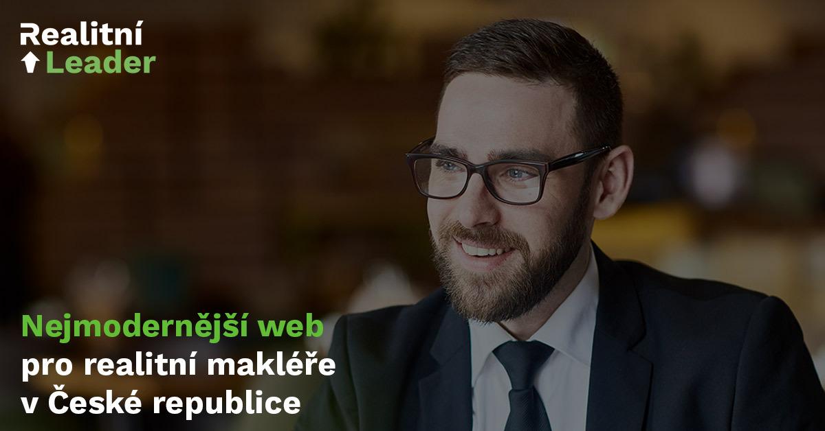 Realitní Leader.cz jako spolehlivé řešení vašeho makléřského webu